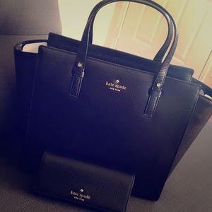 Kate Spade handbag and wallet.